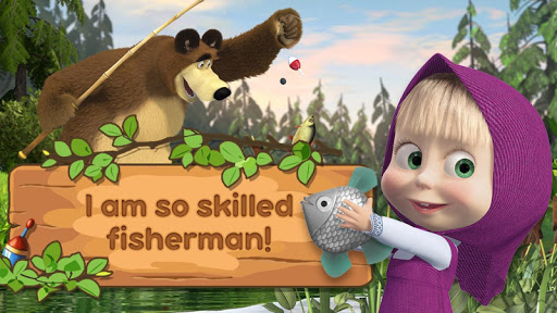 Image of Masha and the Bear: Kids Fishing 1.1.5 1
