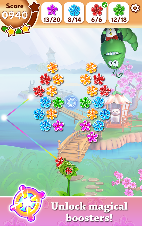 Petal Pop Adventures- screenshot