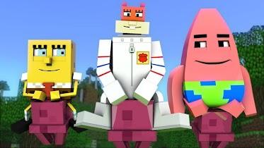 Addon for MCPE - SpongeBob - screenshot thumbnail 01