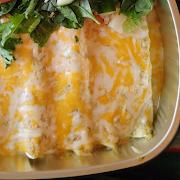 Enchiladas Suizas (3 Pcs.)