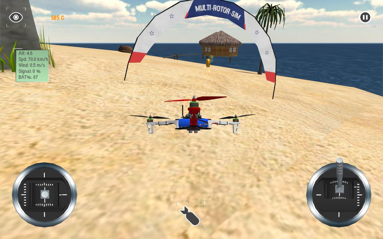 Multirotor Sim- screenshot
