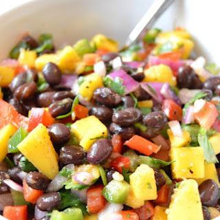 Black Bean Mango Salsa.