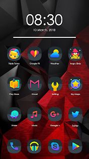 Odici - Icon Pack app for Android screenshot