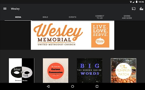 Wesley Memorial UMC- screenshot thumbnail
