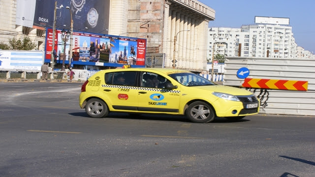 Taxi in Bucharest