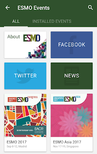 ESMO Events- screenshot thumbnail