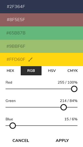 Pigments - Color Scheme Generator screenshots 4