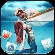 Mermaid, In, Love Themes & Wallpapers