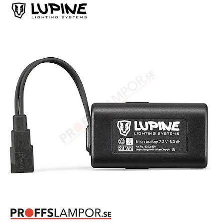 Tillbehör Batteri Lupine HardCase 3.5 Ah Fast-Click-System
