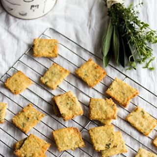 Quinoa Parmesan Crackers