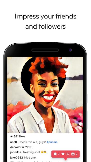 #3. Prisma Beta (Android)