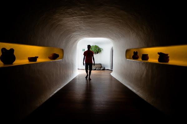 Entrando nel tunnel di sarre 49