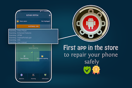 Repair System & Booster RAM (Fix Android Problems) 6 6 9 + (AdFree