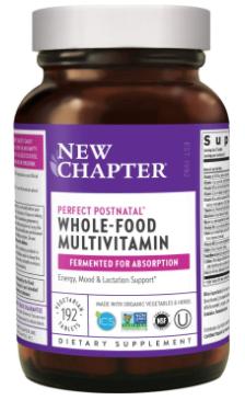 6. New Chapter Postnatal Vitamins