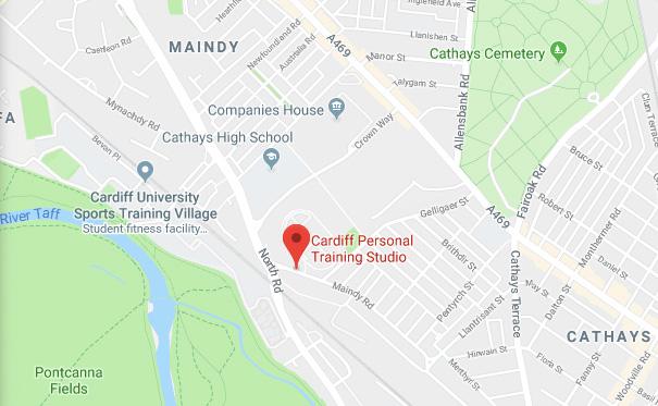 map cardiff pt studi