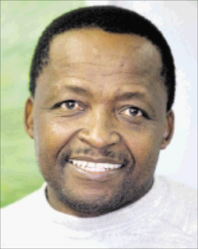 DEMAND: Mike Ntombela represents sponsor Adidas. Pic. Veli Nhlapo. 11/08/2005. © Sowetan. SW20050811VNH004:SPORT:PEOPLE:11AUG2005 - 20050811VNH SPORT Mike Ntombela. PHOTO:VELI NHLAPO