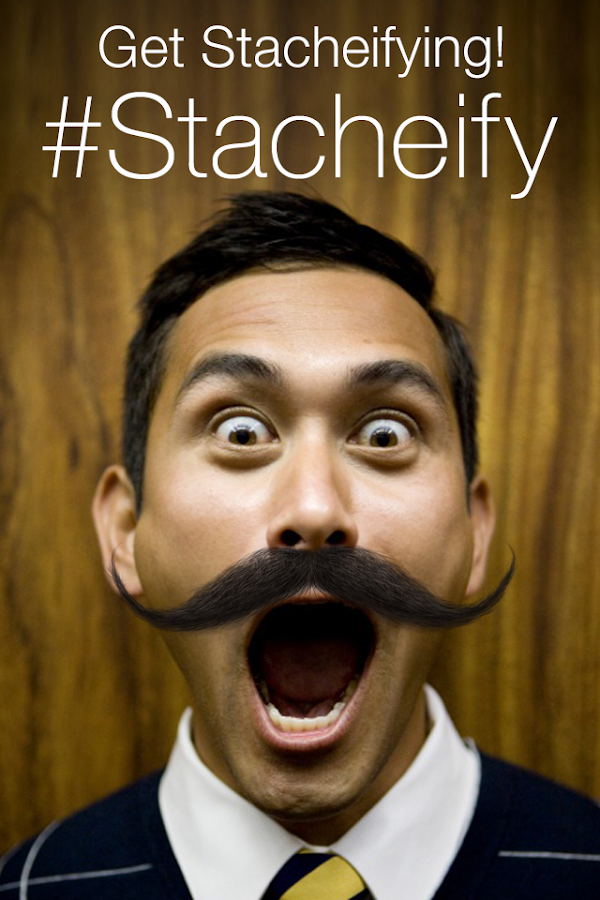 Stacheify - Grow a Mustache- screenshot