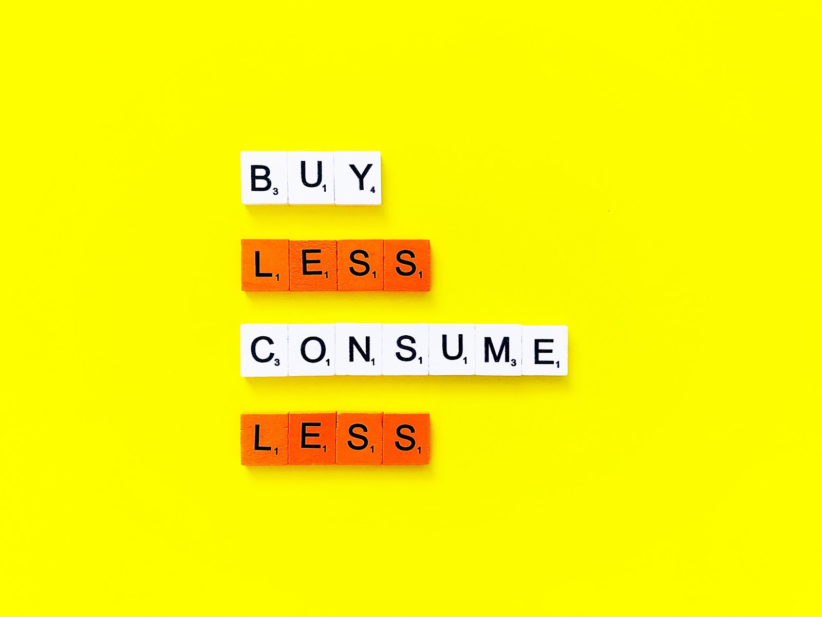 Compra meno, usa di più