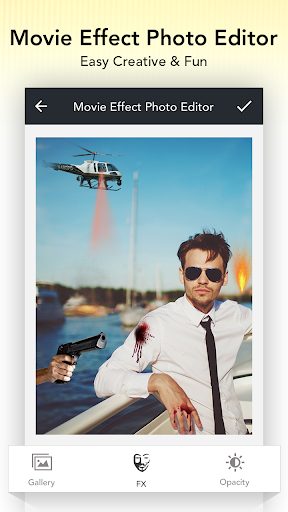 Movie Effect Photo Editor 1.5 screenshots 2