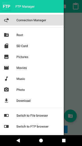 FTP Manager 1.3.5 screenshots 2