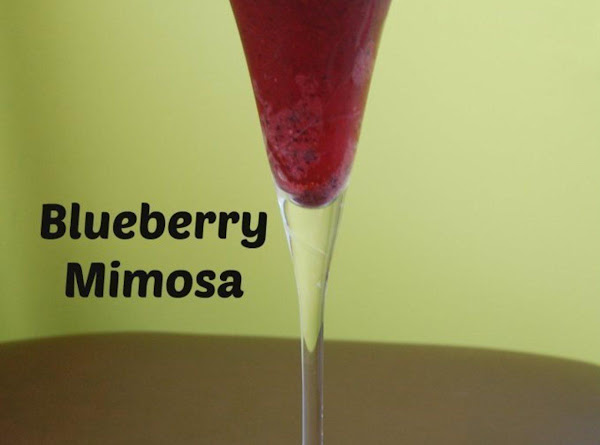 Blueberry Mimosa Recipe
