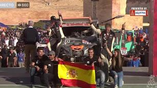 Excelente clasificación final conseguida el en el pasado Dakar