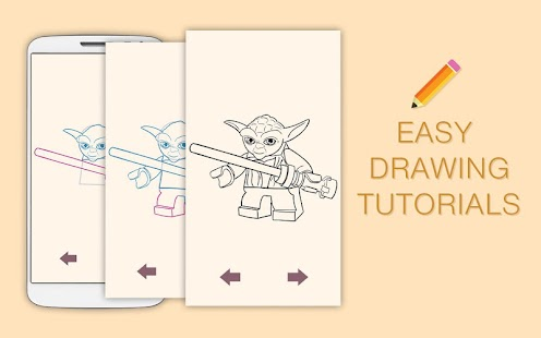 Draw Drawings Stars Wars Best Figurs Lego - náhled