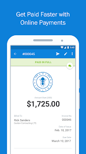FreshBooks -Invoice+Accounting Screenshot