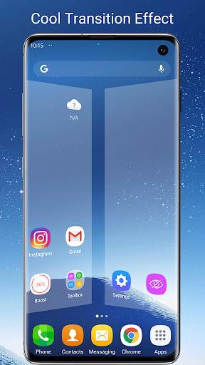 S7/S8/S9 Launcher for Galaxy S/A/J/C, S9 theme screenshots 4