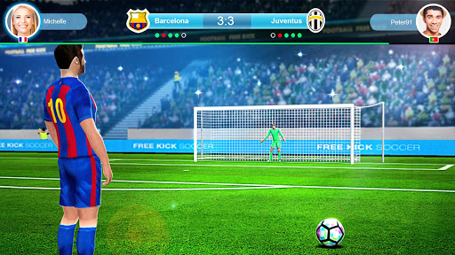 FreeKick PvP Football 1.2.1 gameplay | by HackJr.Pw 2