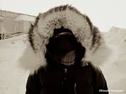 Image result for cold winter with student bundled up