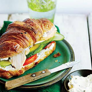 Turkey Croissant Sandwiches.