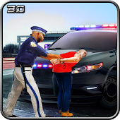 Police Car vs Bank Robbers- Cops Crime Mission 3D