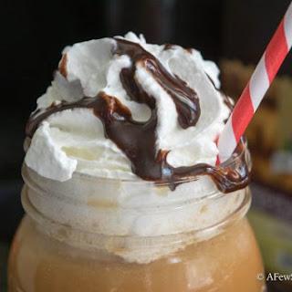 Chocolate Raspberry Truffle Iced Latte