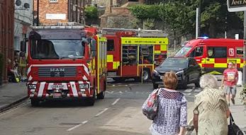 Sunbed blaze hits town centre beauticians