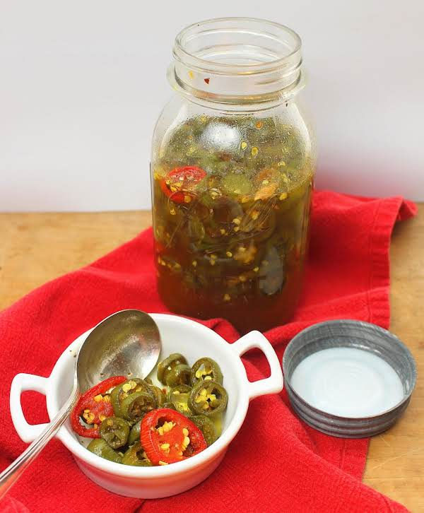 Cowboy Candy (sweet Pickled Jalapenos) Recipe