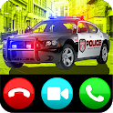 Fake Video call from police - Prank call 911 icon