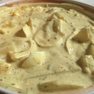 Potato & Egg Curry.