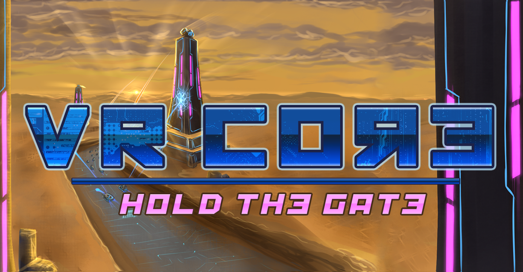 VR Core: Hold the Gate- screenshot