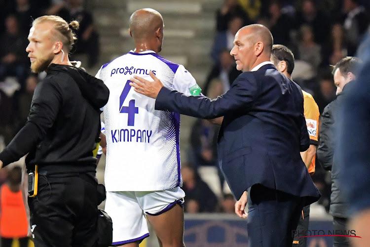 """Anderlecht moest zich verdedigen bij de KBVB: """"Davies was de hoofdcoach en nam zelfstandig beslissingen"""""""