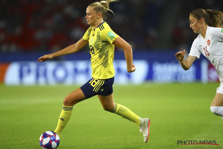 Zweedse blijft geschorst tegen Oranje Leeuwinnen