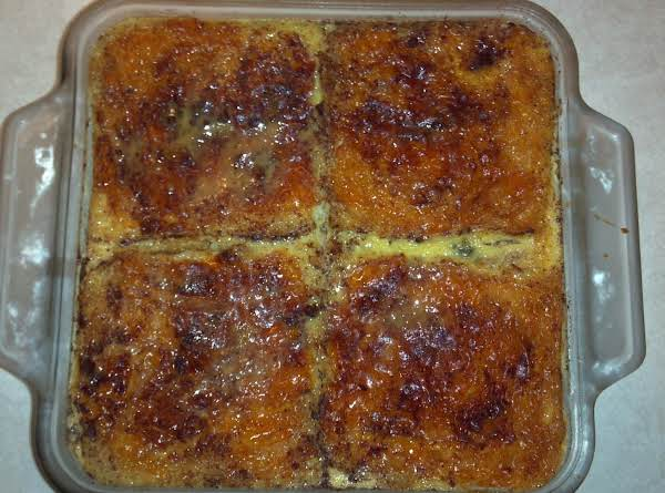 Tender Bread Pudding Recipe