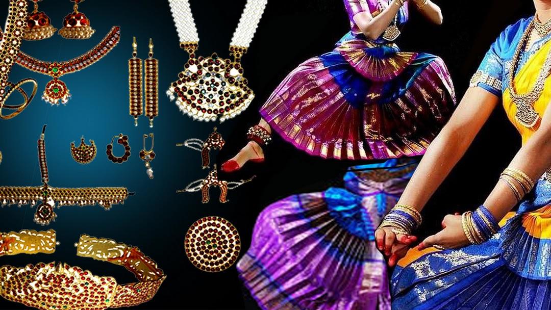 Bharatanatyam & Classical Dance Dress Collections - Bharatanatyam
