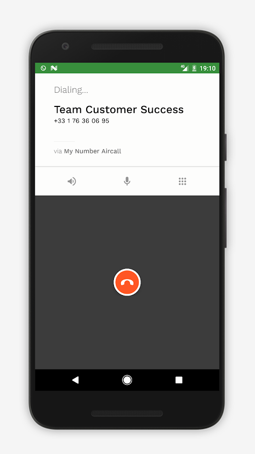 Aircall- screenshot