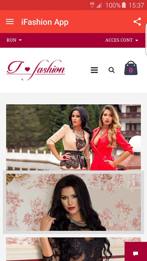 i-Fashion.ro | Magazin Online- screenshot