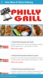 Philly Grill- screenshot thumbnail
