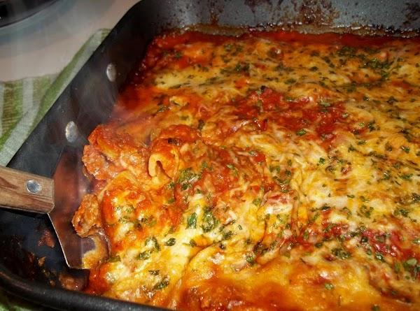 Layered Rigatoni W/ Italian Sausage - Cass's Recipe