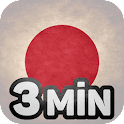 Learn Japanese in 3 Minutes icon