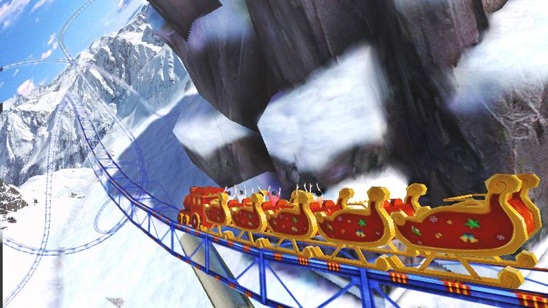 Roller Coaster 3D- screenshot