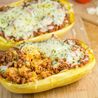 Baked Spaghetti Squash With Tomato Sauce Recipes